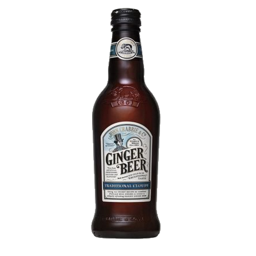 John Crabbie's Cloudy Ginger A naturally flavoured soft drink, made using a secret recipe handed down from generation to generation.  Non-Alcoholic