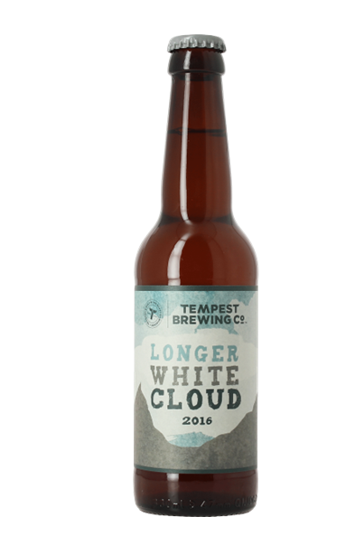 Tempest Longer White Cloud   Limited edition, annual release beer showcasing the very best of New Zealand hops. Taste of soft fruits, honeyed melon, light malt.   10.2%ABV, Imperial IPA