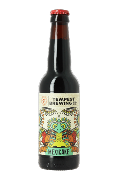 Tempest Mexicake An award-winning, dessert inspired Imperial Stout infused with cocoa, vanilla, and chillies. 11.0%ABV, Imperial Stout