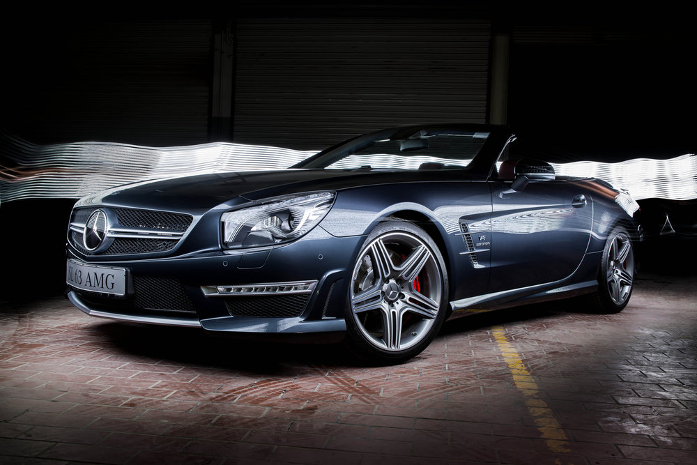 Mercedes AMG SL63 Light Painting Bahrain - Ali Haji.jpg
