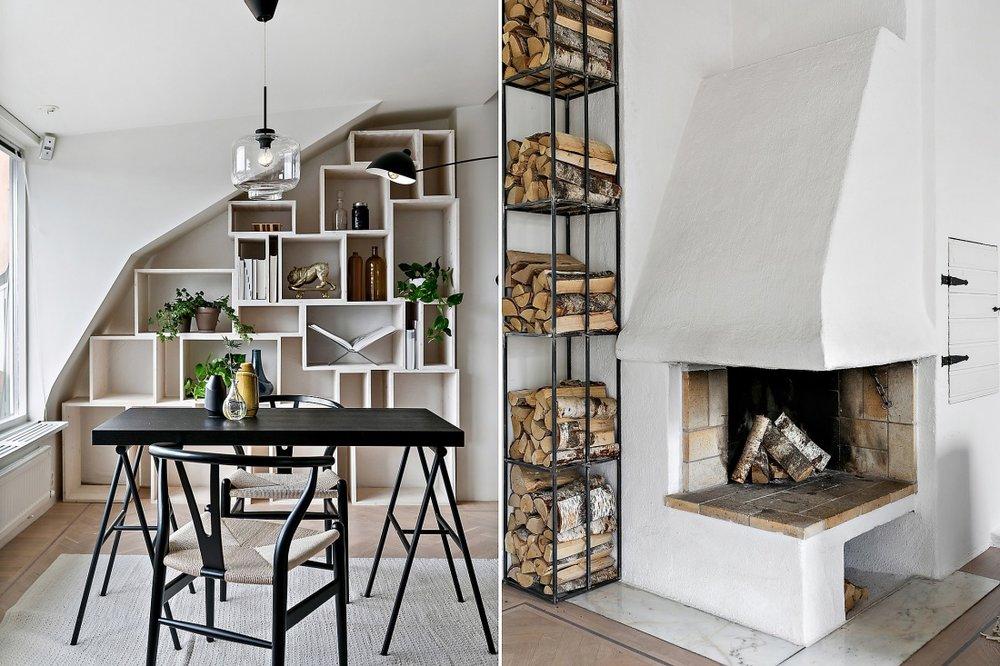 Amenajare scandinavă într-o mansardă din Suedia  l.jpg
