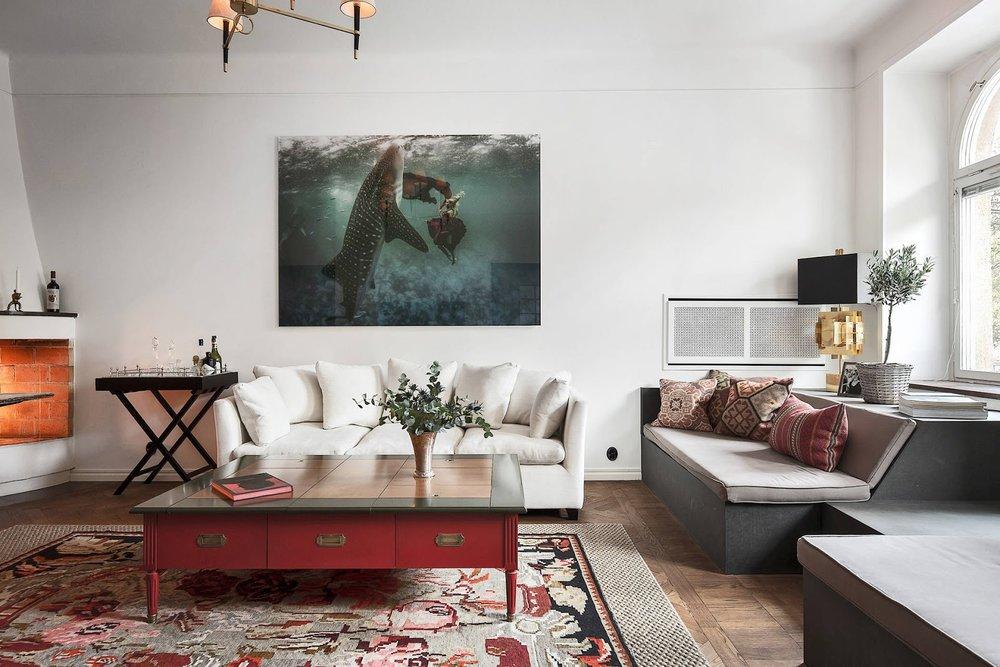 Accente vintage și bucătărie până în tavan într-un apartament de 73 m² 4.jpg