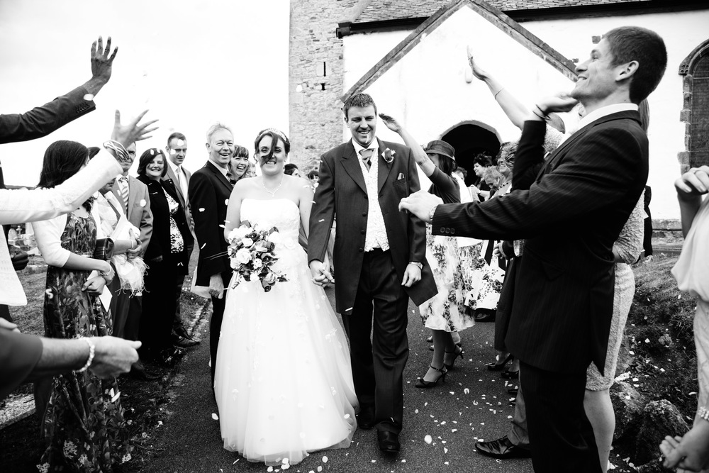I shot my second wedding of the year in August for my friends Andrew and Nicola Leater. Andy has been a friend of mine for about 15 years so it was an honour. The group shot of all the guests outside this church was  good photo too but I liked the action in this one.