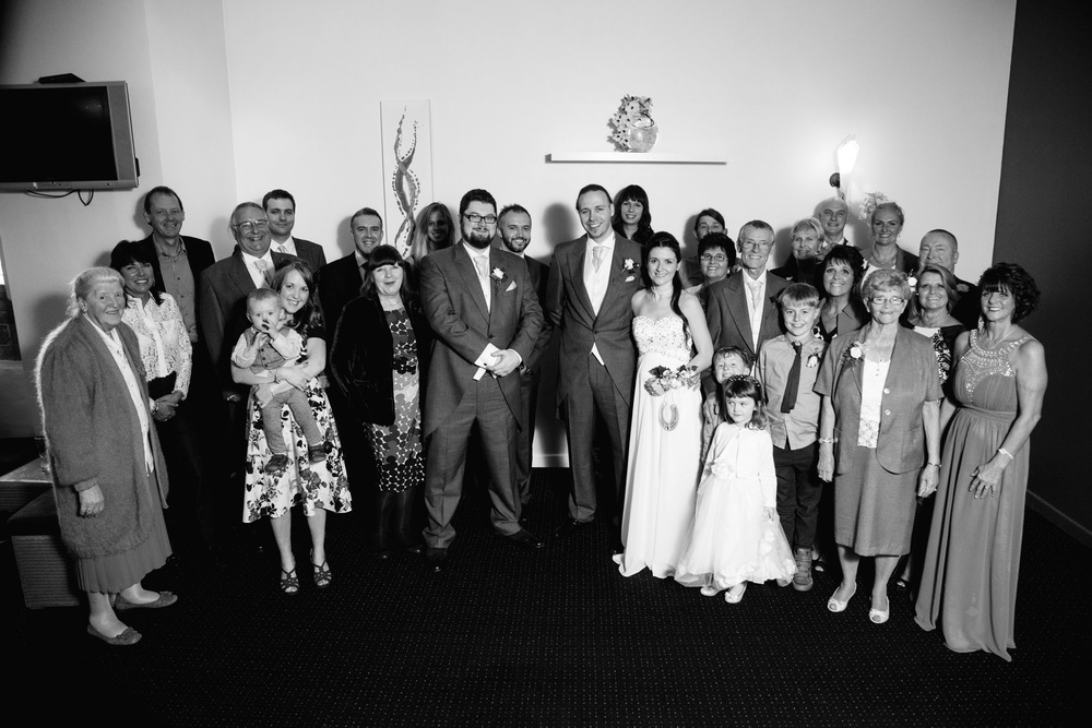 The third and final wedding of the year in October. Marcus Rogers, a close friend from my Uni days, married Victoria. Again being entrusted with this from a good friend was an honour. Choosing a spot for the big group shot was a tough one due to space and lighting, but in the end I was pleased with this photo.