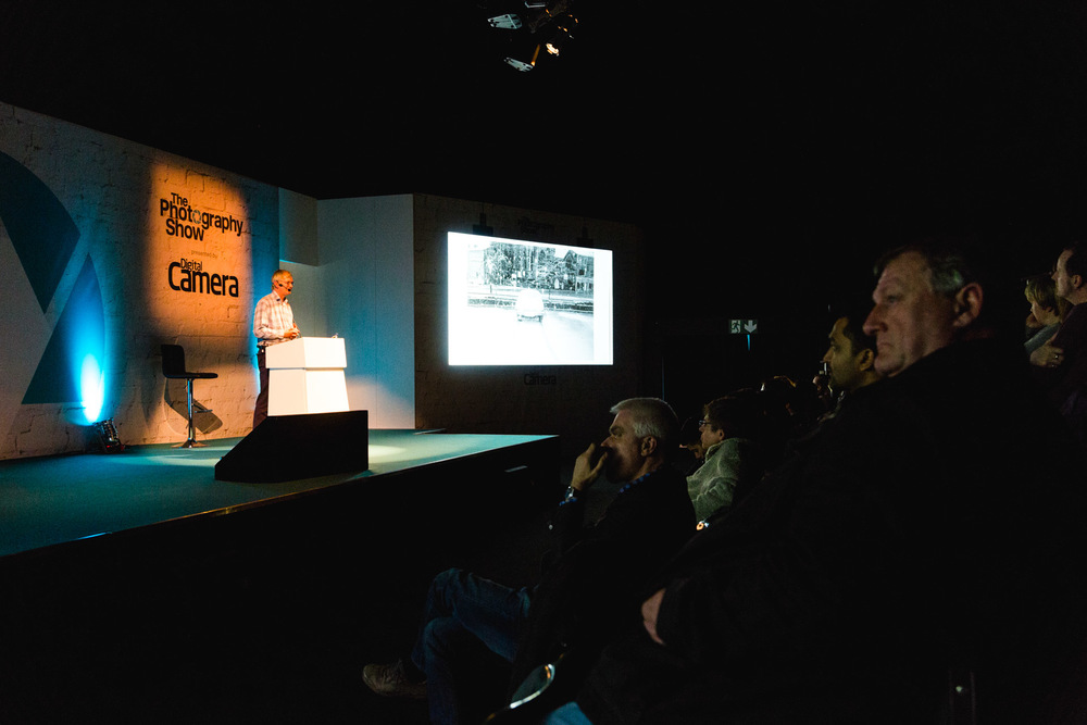 Martin Parr's talk on the Super Stage rounding off my time at The Photography Show 2015.