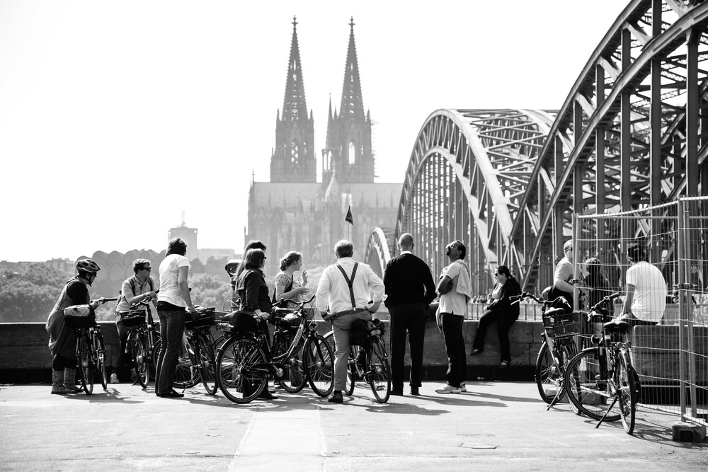 Cologne Koln 2014 (5) Hohenzollern Bridge Dom.jpg
