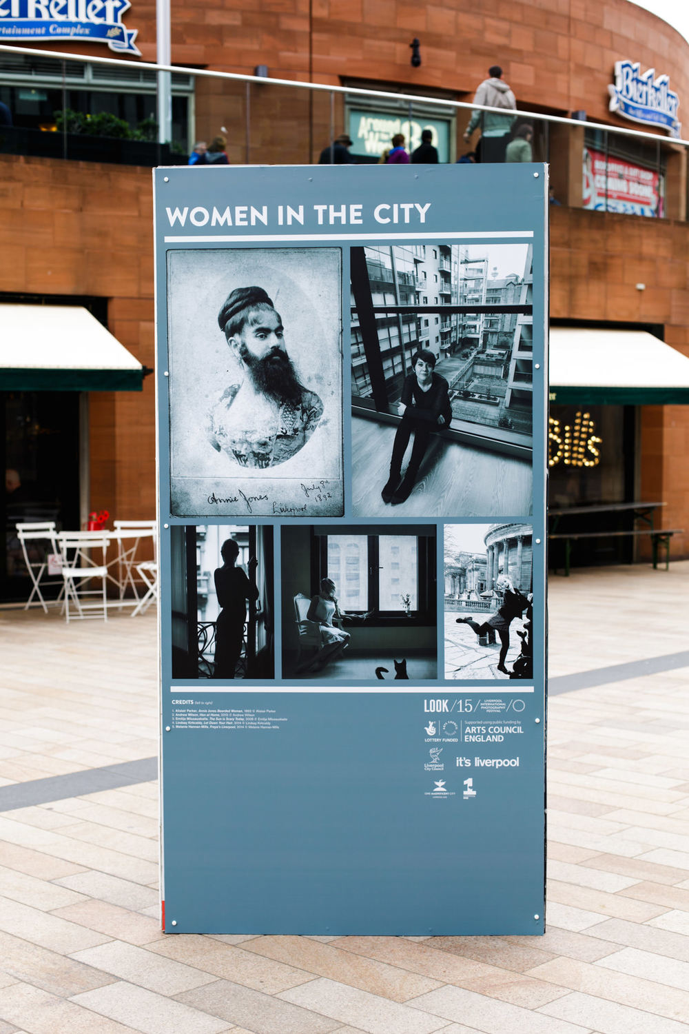 May - ...the photo was successful and ended up being displayed in Liverpool's city centre on the opening of Light Night.
