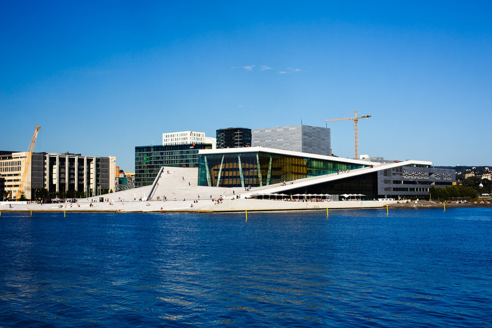 The Oslo Opera House.