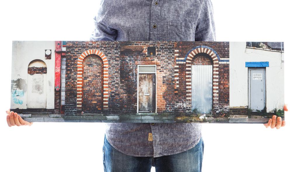 'Knock-Knock' (100x30cm - £135)