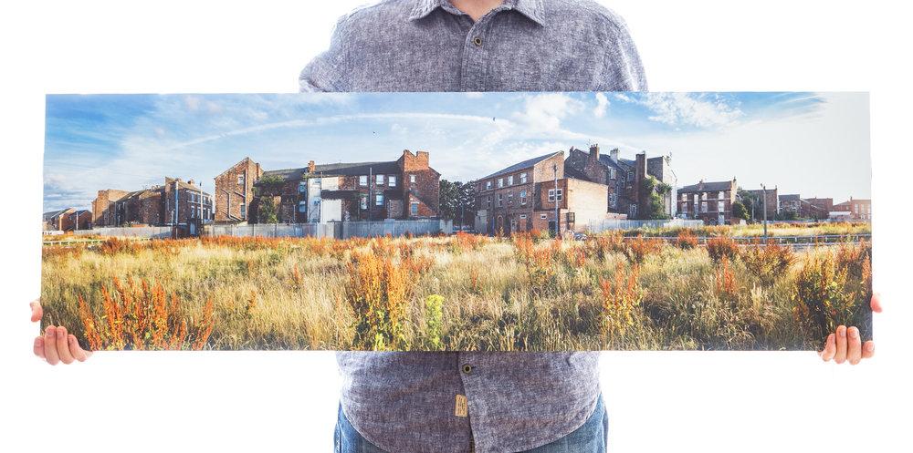 'A Neighbourhood in Transition' (112x35 £150)