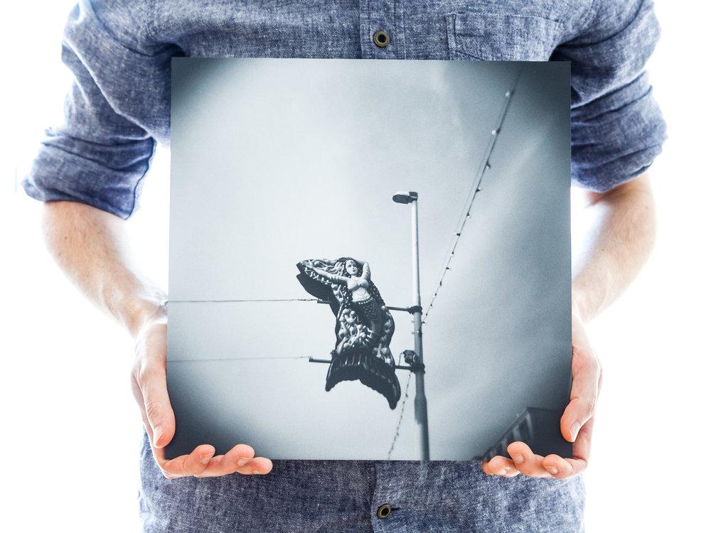 'Mermaid in the Sky' (30x30cm - £45)