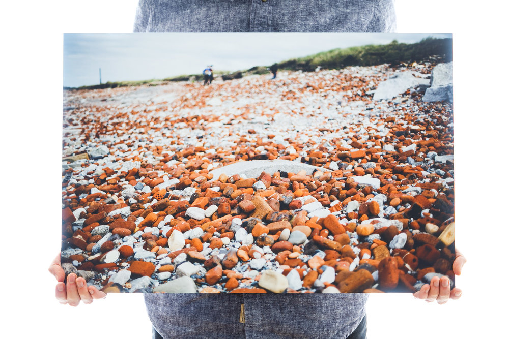 'Red Brick Rocks' (60x40cm - £90)