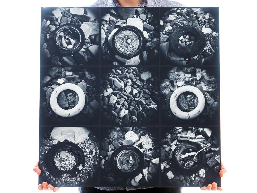 'Naughts' (60x60cm - £90)