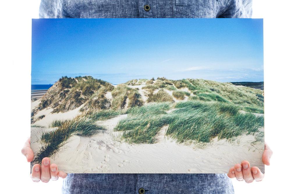 'Grass-Patch Peaks' (45x30cm - £70)