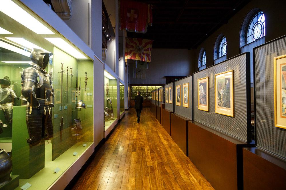 Inside the Musée d'Art et d'Histoire