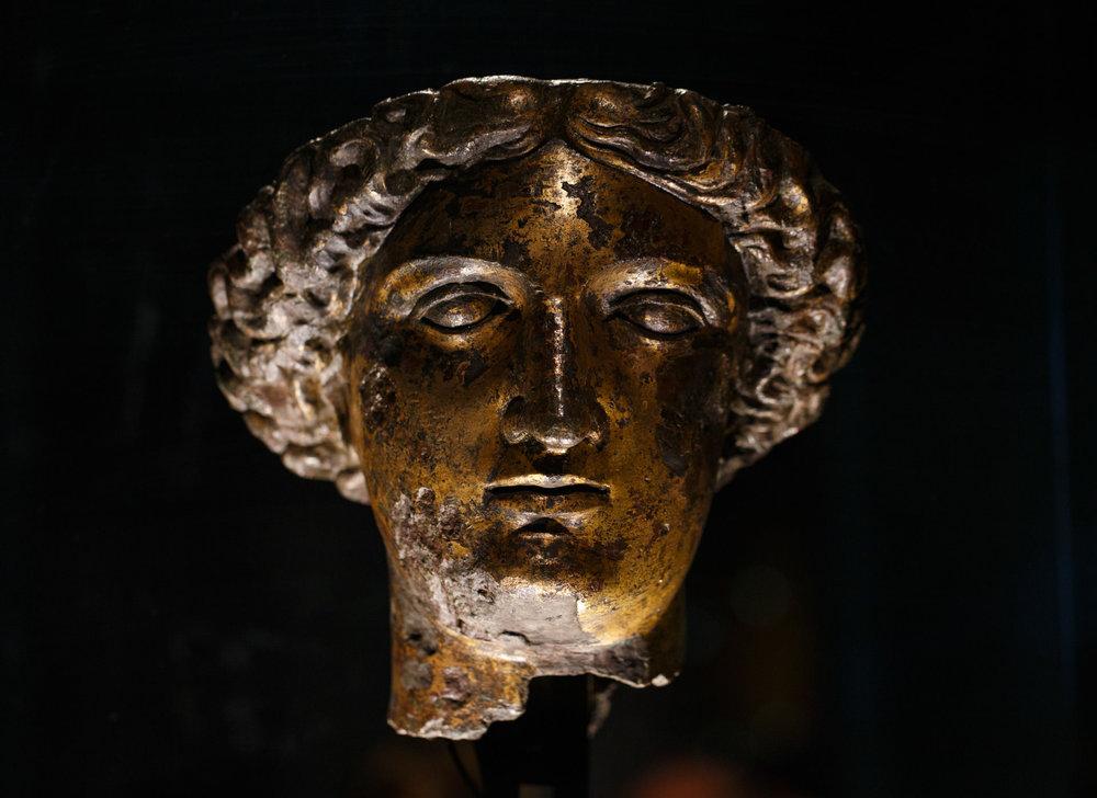 Minerva's head ( more info here ).