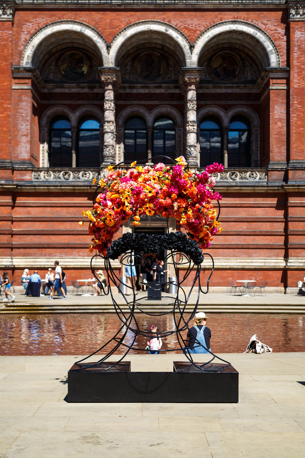 Frida Kahlo sculpture to tie-in with the exhibition.