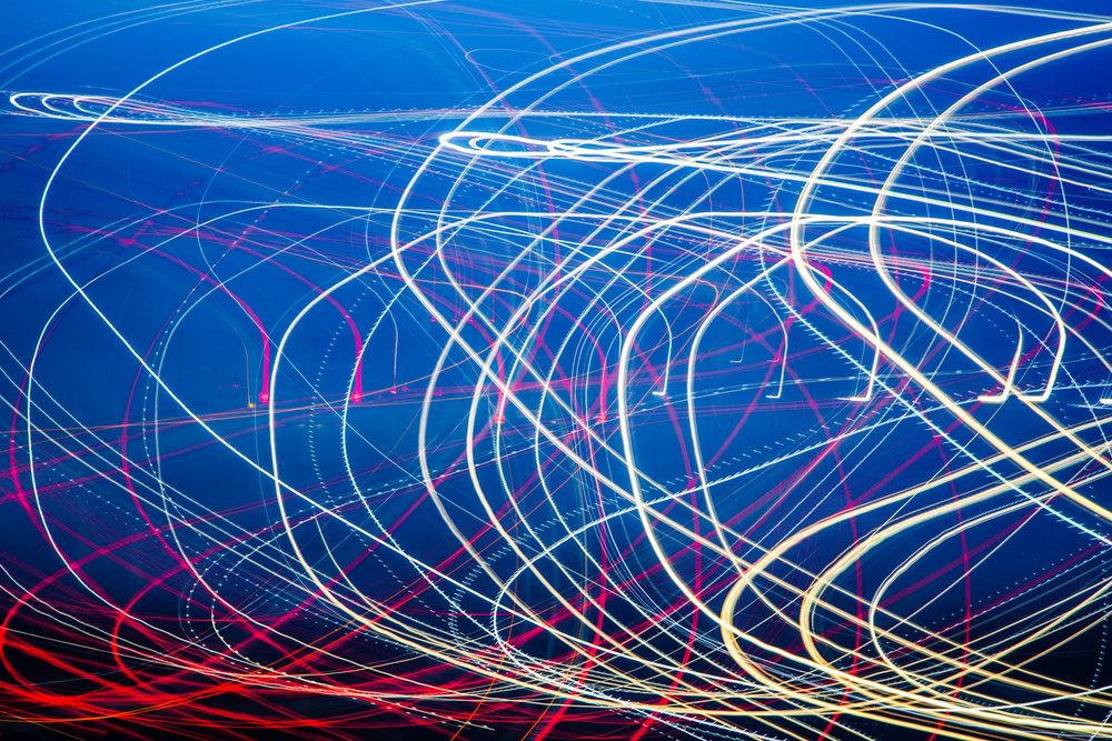 Light painting on return from The Photography Show…