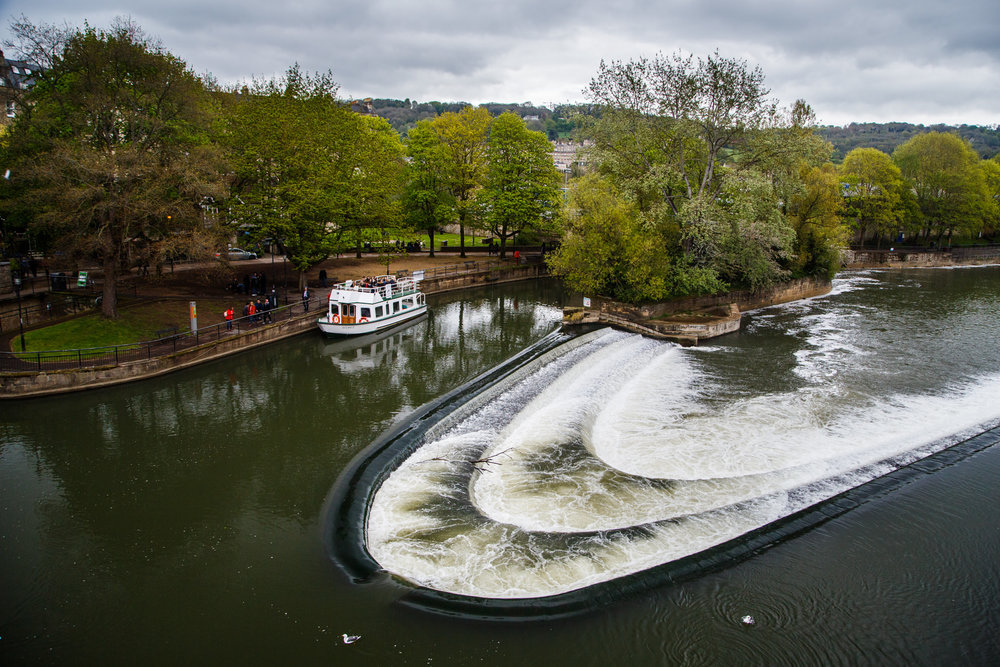 …and Pulteney Weir.