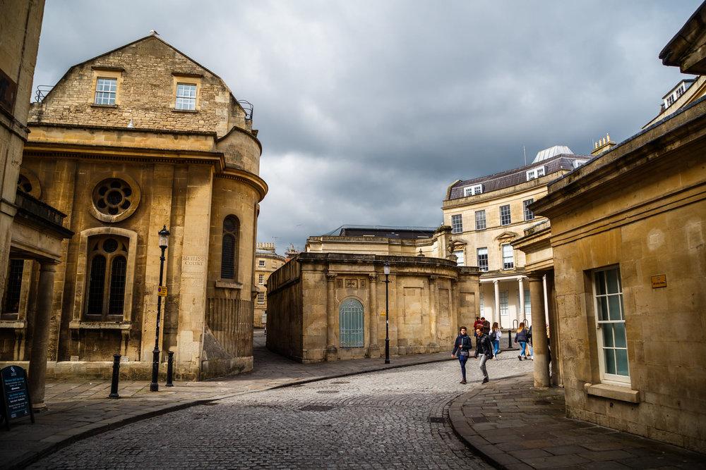 April - A weekend trip to Bath…