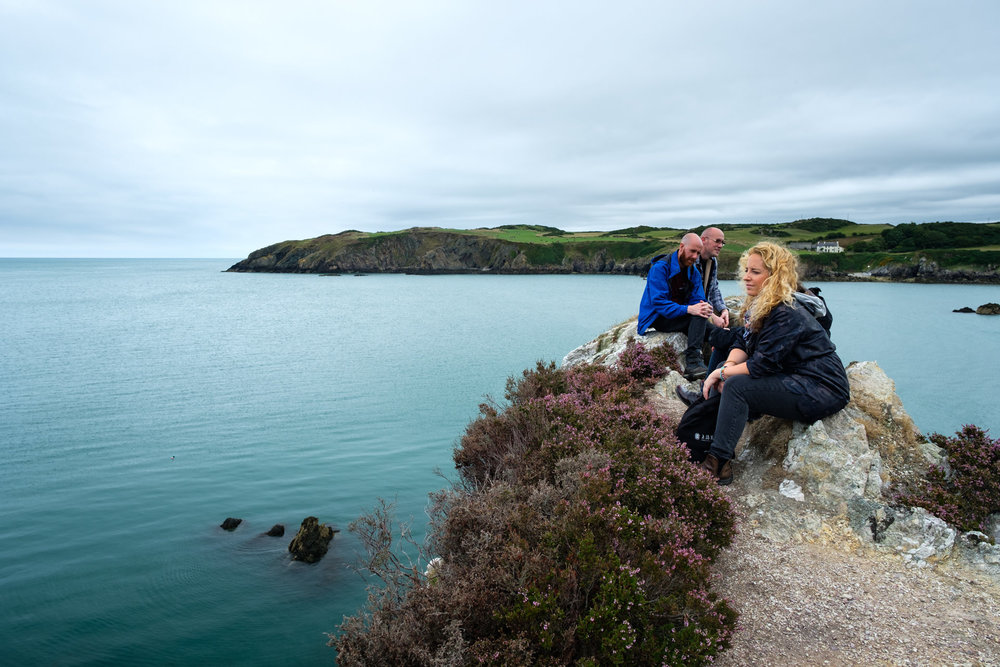 A day out to Anglesey in North Wales with friends...