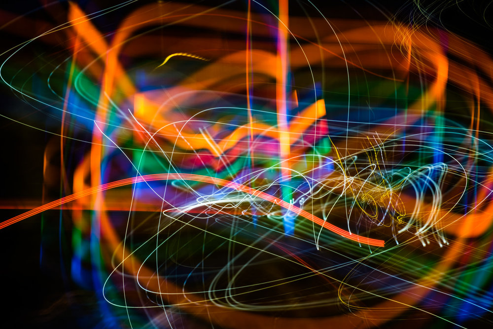 ...I experimented with light painting once again on our way back to Liverpool.