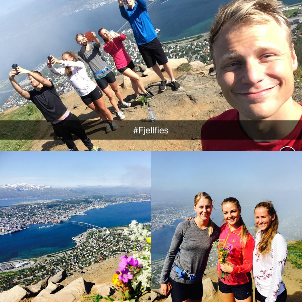 Petter, Veronica, Helene, Marielle, Anders, Trond.