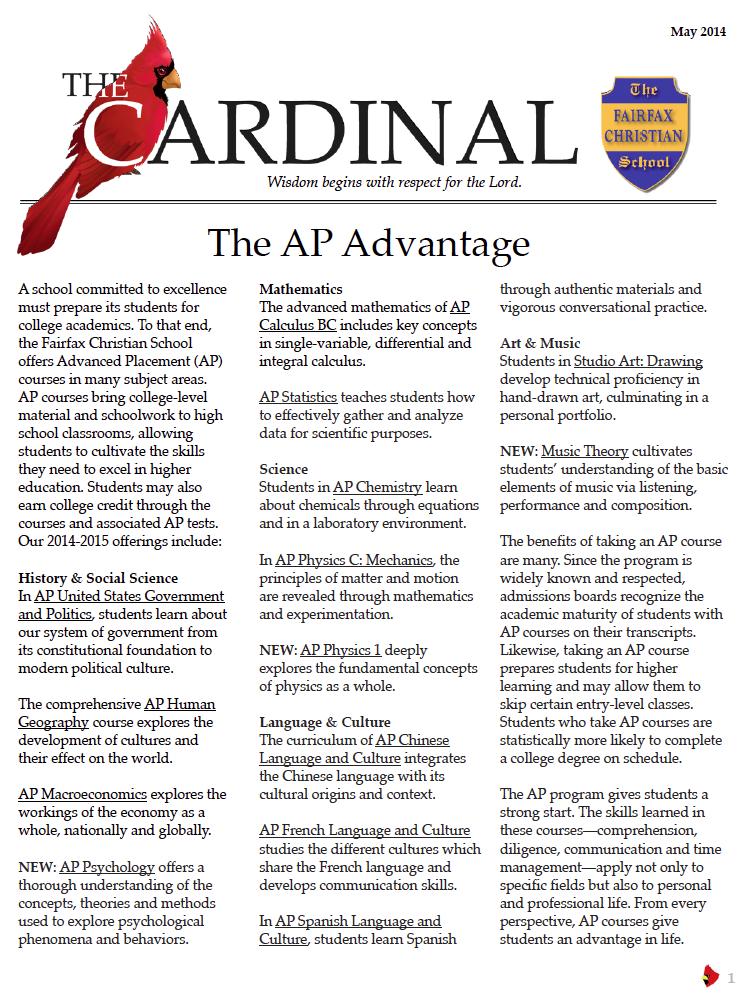 Cardinal - May thumbnail