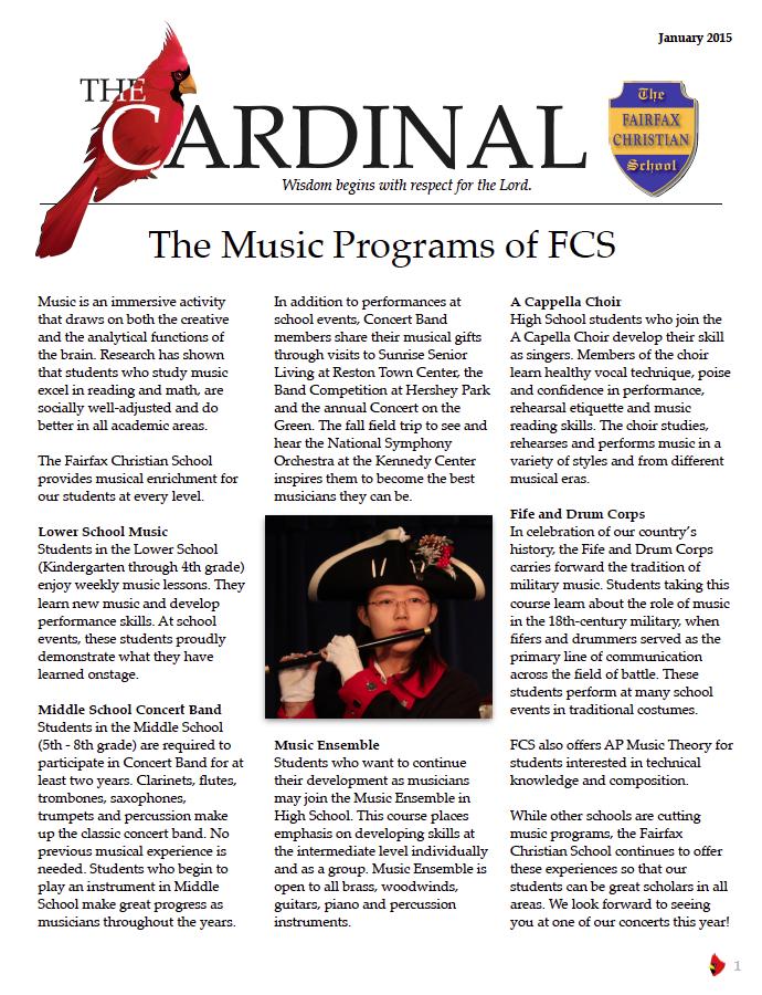 January Cardinal Cover