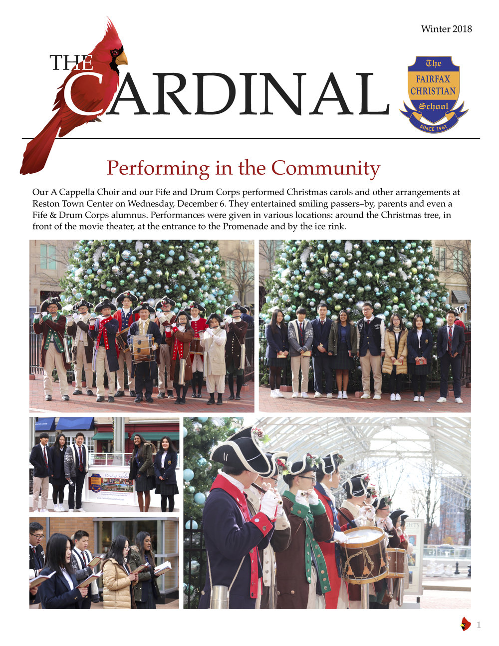 The Cardinal Winter 2018