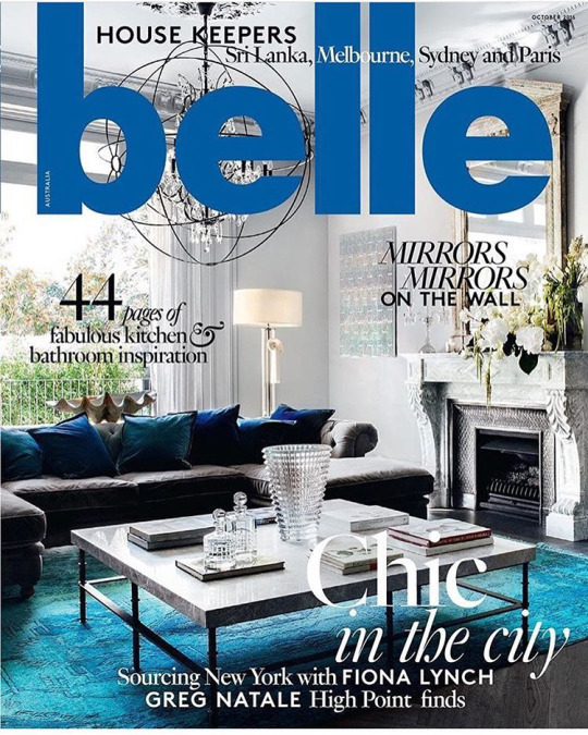 FloraFolk featured in the @bellemagazineau Fabulous Five. Sneak peak of their gorgeous October issue on sale Monday.