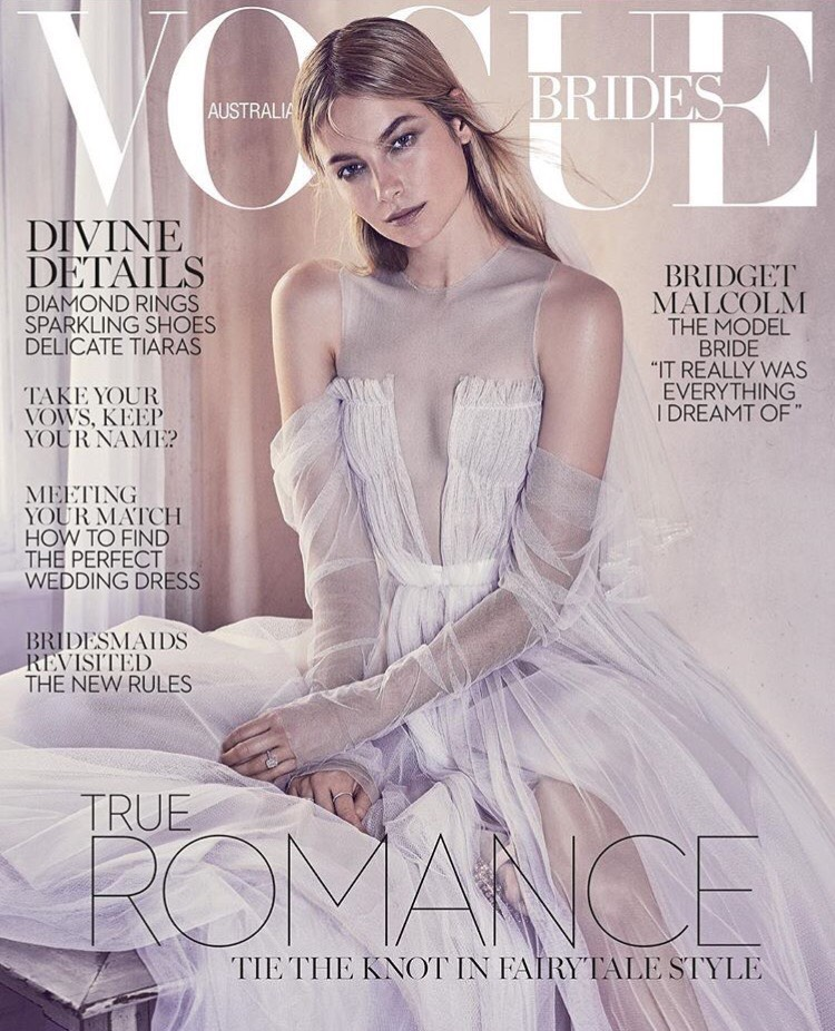 FloraFolk in VOGUE BRIDES 2017