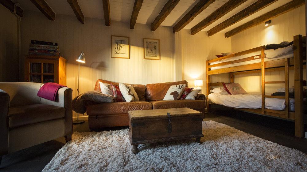 TV Room/ Bunk beds