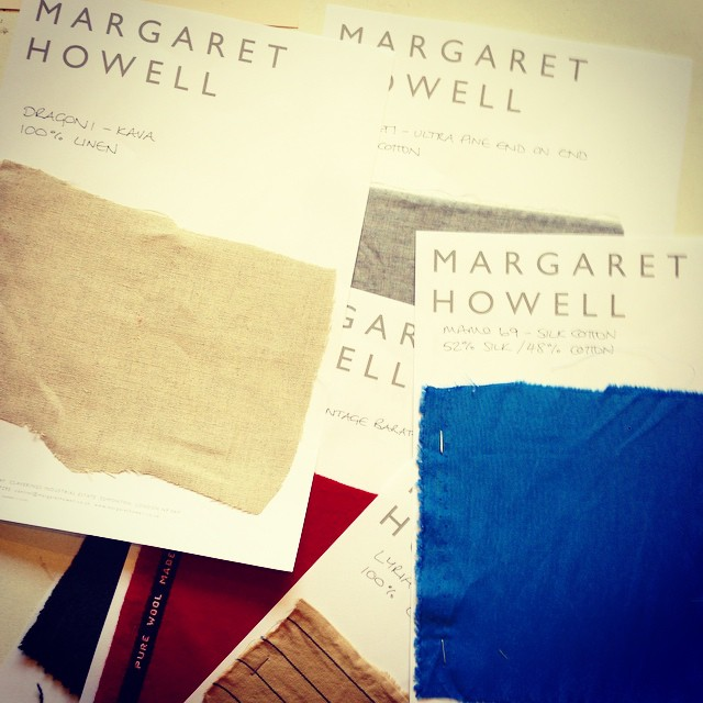 What's all this then? #project #2015 #2016 #margarethowell #art #fashion#textile #waste #creation #exhibition @alexnoblestudio @ryanlanji @nn_ff @imakefings