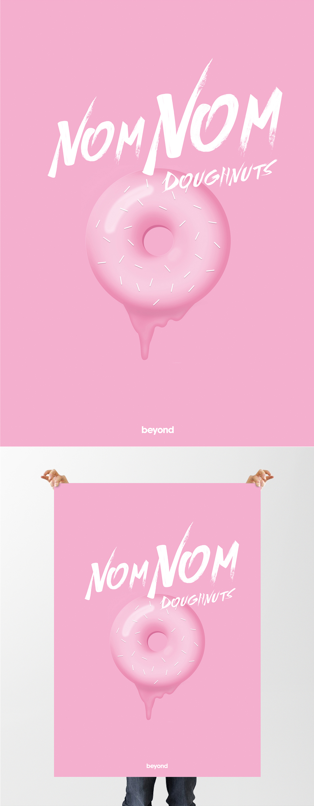 Nom Nom Poster Design