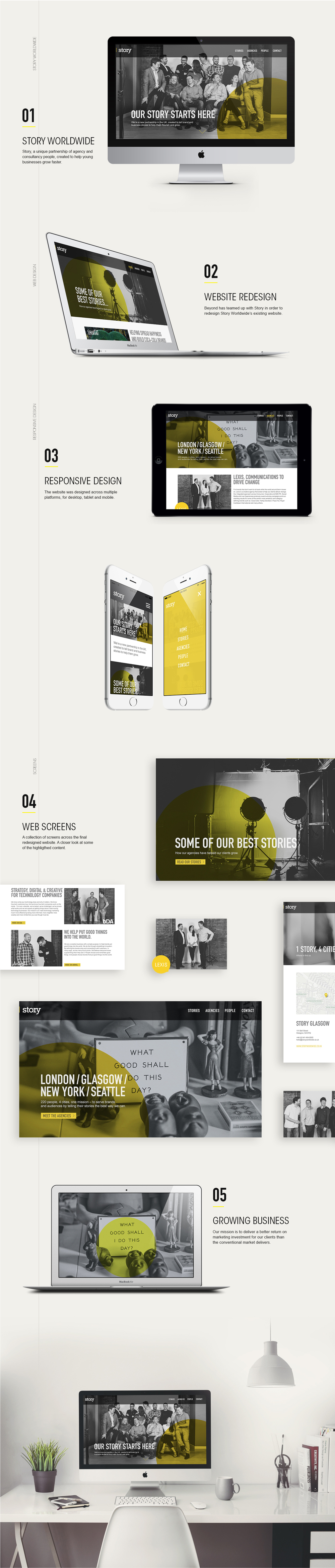 Story Web-Redesign