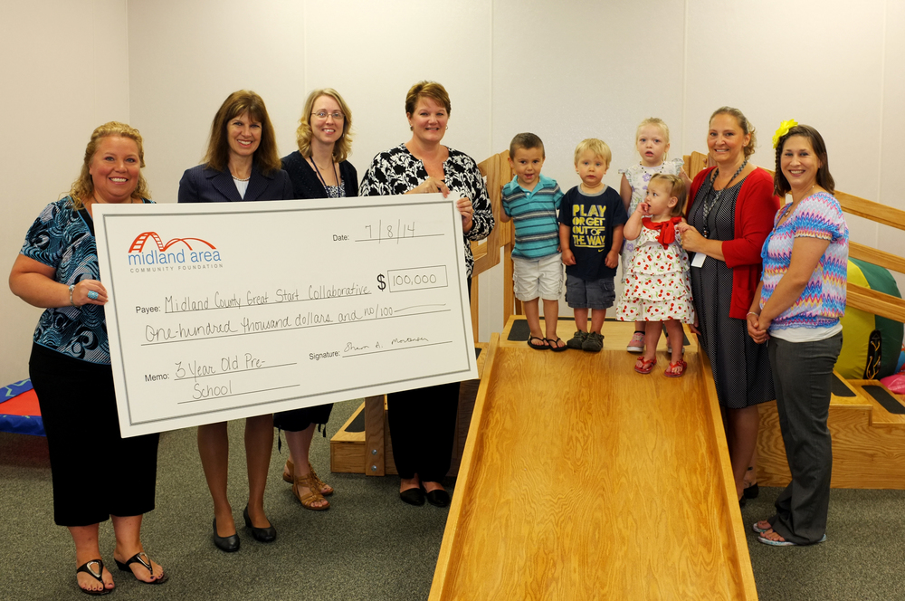 Midland County Great Start Collaborative receives a $100,000 IMPACT grant in 2014