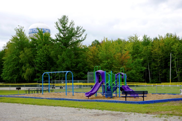Larkin Township earned a TOWN Grant to purchase playground equipment in 2015