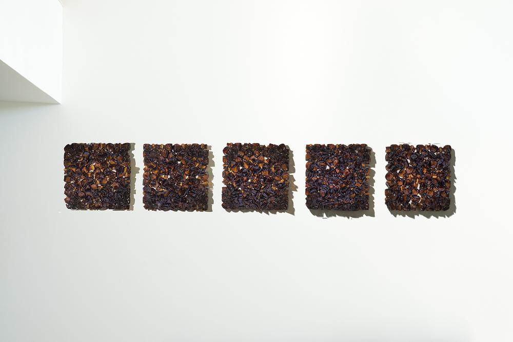Amber Glass Tiles