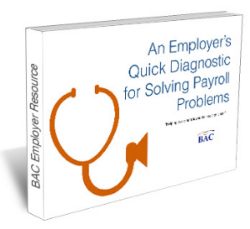 Solving payroll services problems call to action