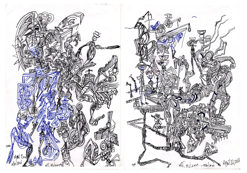 Transit Sketches, 2008