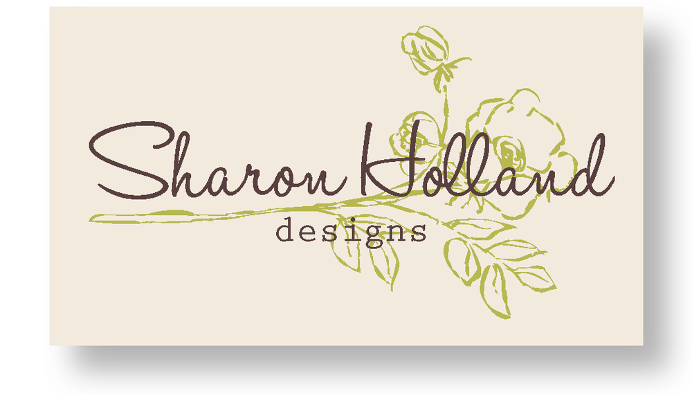 sharon holland designs card