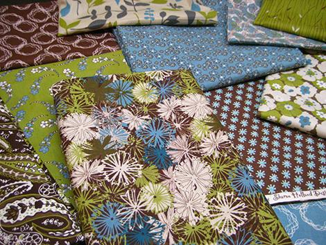 blue skies fabrics