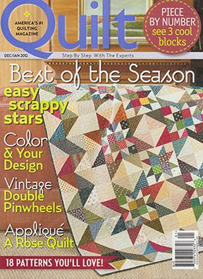 Quilt Magazine DecJan 2012
