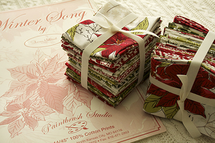 Winter Song fat quarters