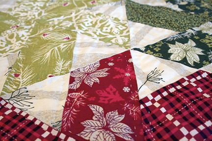 hand quilted runner