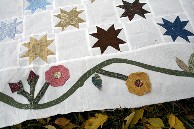Stars & Applique close up 1