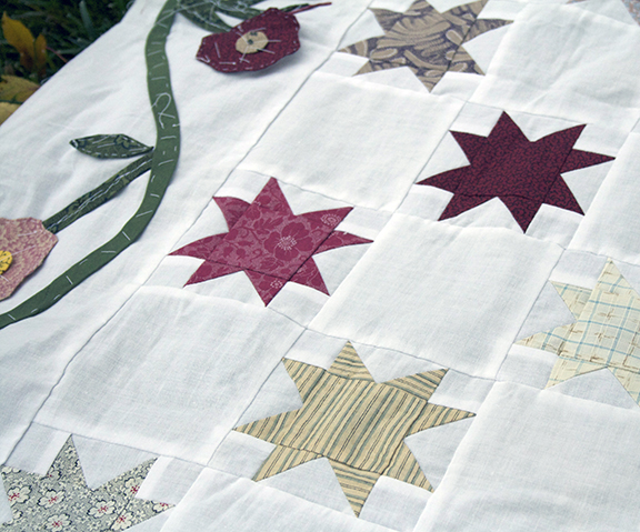 Stars & Applique close up 2