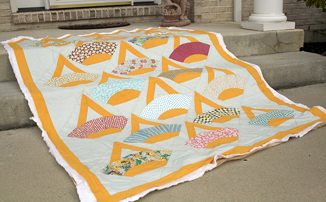 fan basket quilt