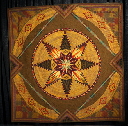 Native Weaving- Feathered Star